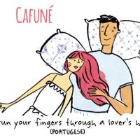 Ilustradora explica palavras de amor intraduzíveis